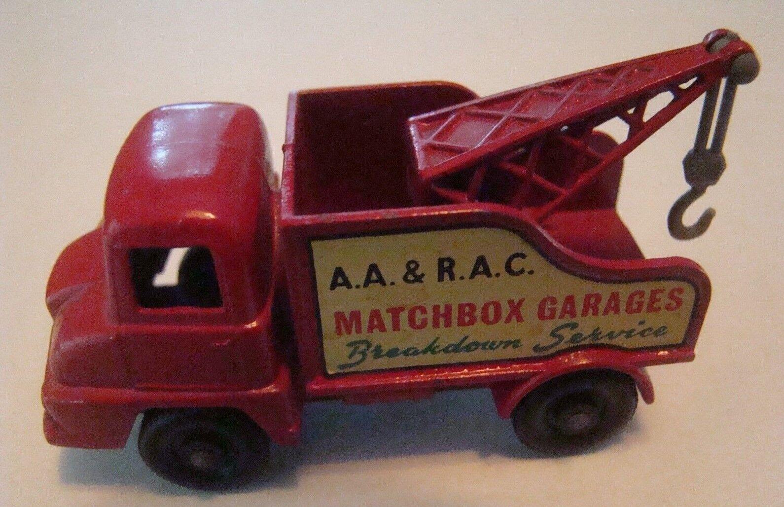 solo para ti Matchbox 13 Thames Naufragio Camión agua peptonada tamponada gris gris gris Gancho 1961  oferta de tienda