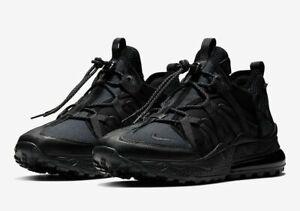 Mens-Nike-Air-Max-270-Bowfin-Trail-Shoes-Black-Anthracite-Brand-New-AJ7200-005