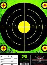 ZOMBIE GREEN Shooting Target 50 PACK 8.5x11  Range Air Soft Sniper Paper Target