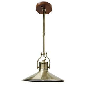 deckenlampe im industrie stil aus metall h henverstellbar holzhalterung lampe ebay. Black Bedroom Furniture Sets. Home Design Ideas