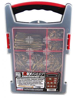 Torx Fast Screw Assortment Case 1000 Pack
