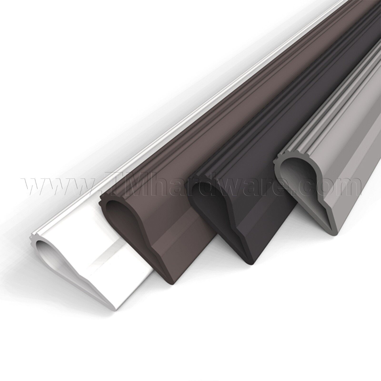 Door Seal - Self Adhesive Silicone Weatherstripping Soundproofing