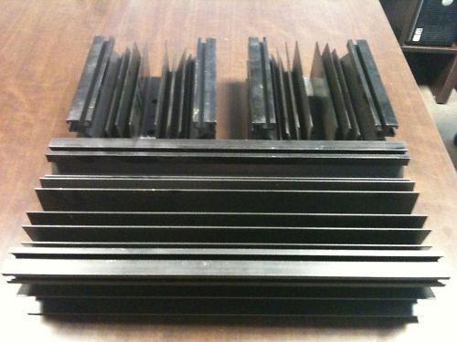 Lot 3 radiateurs pour électronique de puissance