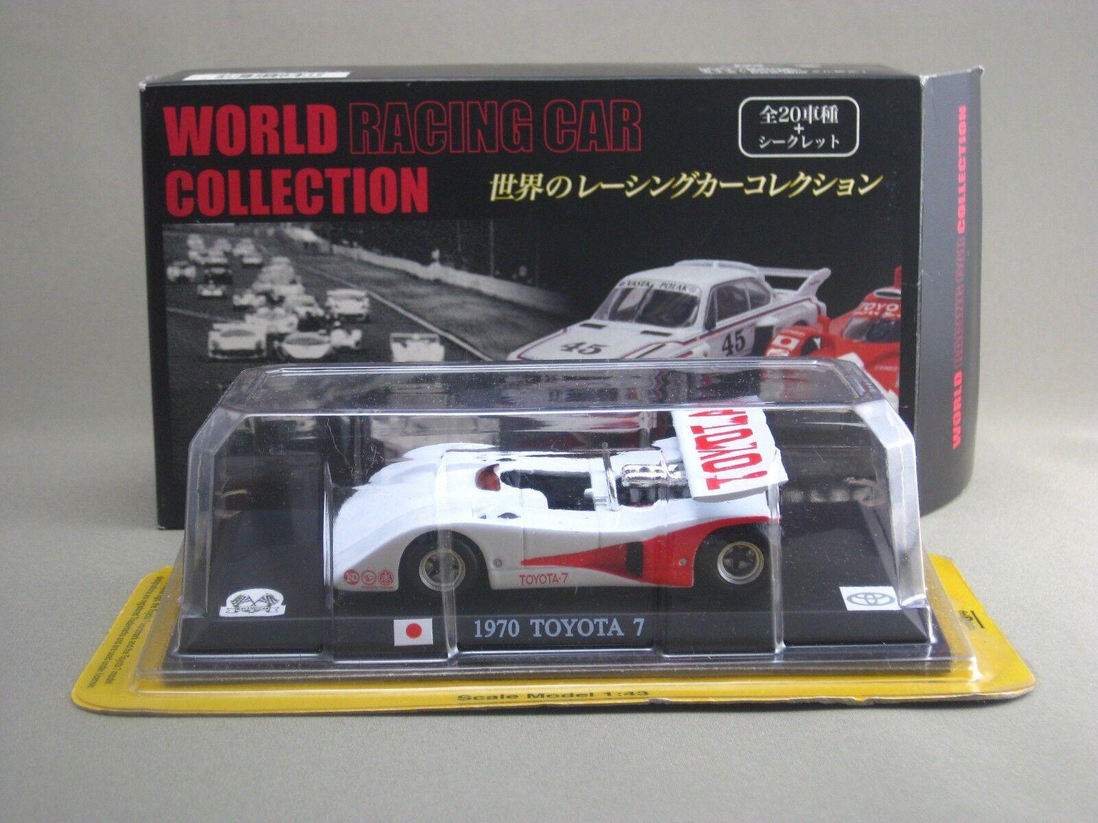 Toyota 7 1970 1 43 Die Cast Modelo World Racing Car Colección DELPRADO