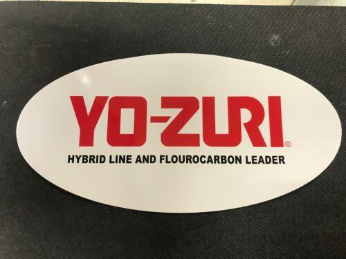 YOZURI DECAL LARGE FREE SHIPPING