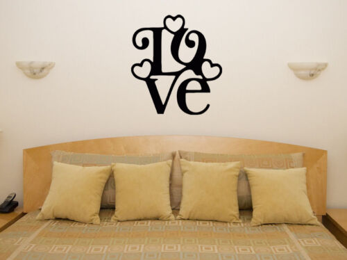 Love Word Text Quote Motto Saying Art Decal Sticker Picture Poster Decorate