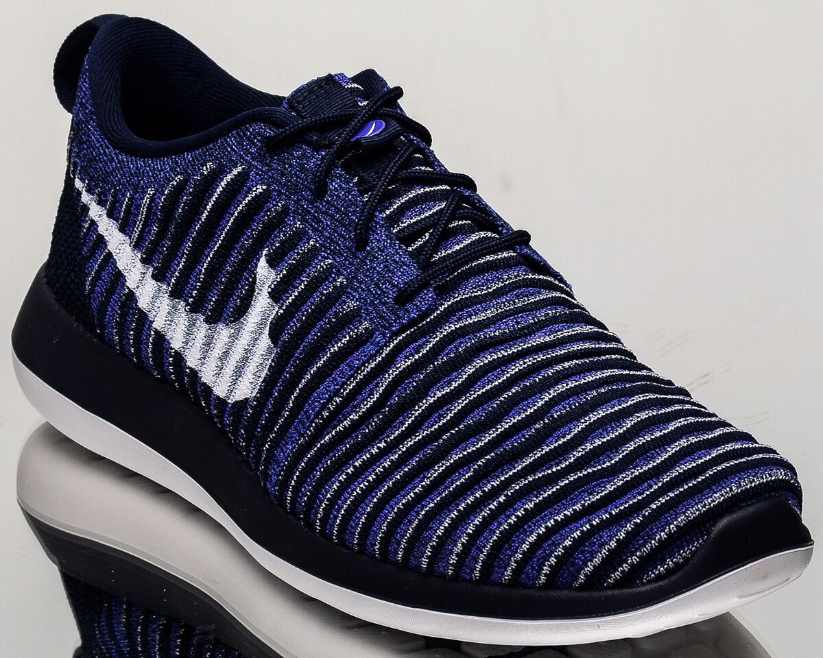 Nike Hombres roshe dos Flyknit 2 Hombres Nike Estilo De Vida Zapatillas Nuevo Colegio Azul Marino 844833402 a55a21
