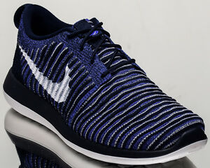 2e144f30125e4 Nike Roshe Two Flyknit 2 men lifestyle sneakers NEW college navy ...