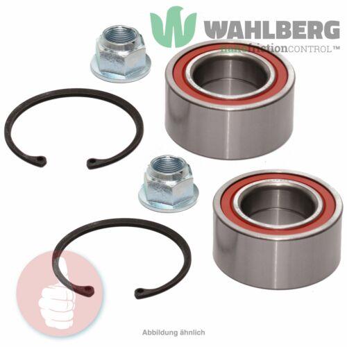 2 x Original WAHLBERG Radlager Radlagersatz WB96514 Vorderachse oder Hinterachse
