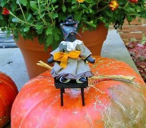 55d0fd079f500 La foto se está cargando Halloween-Nancy-Malay-Victorian -Whimsies-Black-Cat-Lady-
