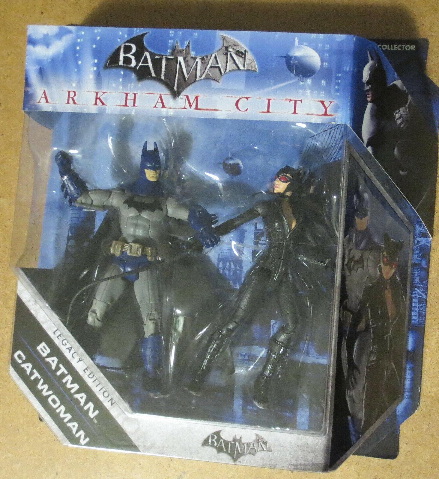 BATMAN CATWOMAN Arkham City Legacy Edition Series Mattel action figure DC Comics