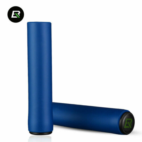 Rockbros Bike Handlebar Rubber Grips Double Lock-on For Bicycle MTB BMX 22.2mm