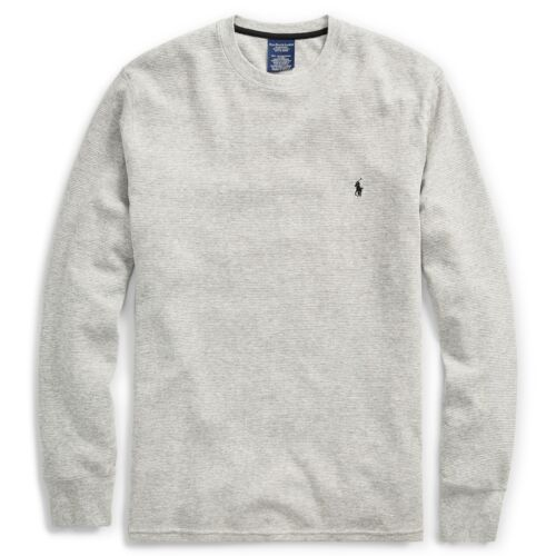 XXL GRAY S New Polo Ralph Lauren Mens Waffle Knit Thermal L//S shirt