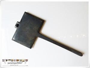 UnermüDlich @ Omas Altes Zimtwaffeleisen Waffeleisen Aus Gusseisen Top Zustand @ Extrem Effizient In Der WäRmeerhaltung Waffeleisen Antiquitäten & Kunst