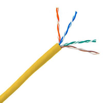 300/' Ft Bulk CAT6 23 AWG UTP Twist Pair Solid Network Ethernet LAN Cable Blue