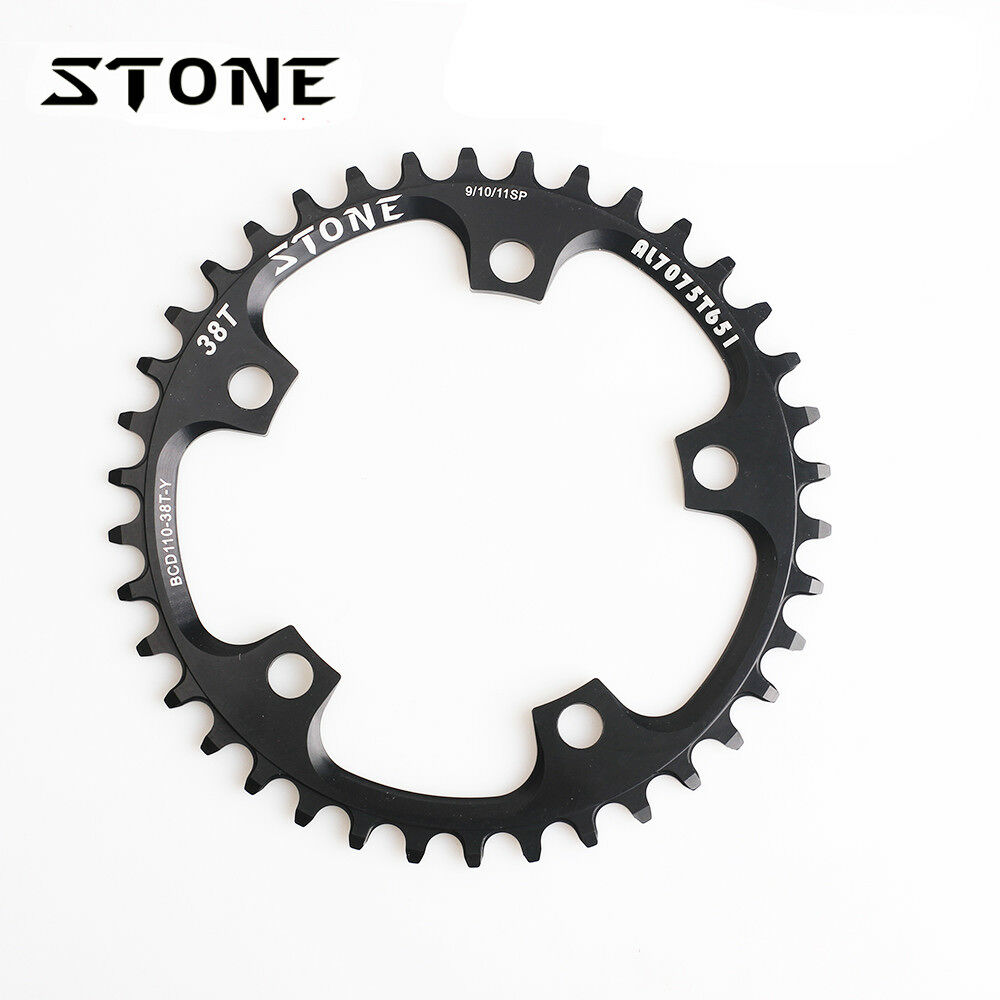 Stone Road CX Single Chainring BCD 110mm Narrow  Wide For SHIMANO SRAM FSA redor  just for you