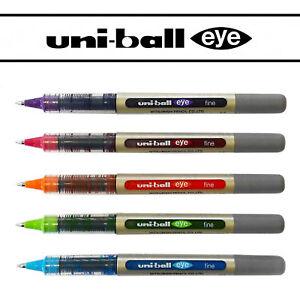Uniball-UB-157-Rollerball-Pen-Set-5-Pen-Set-Tropical-Colours-Pack