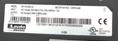 Frequenzumrichter mit integrierter Potiometer Umrichter bis zu 0,4 KW Motoren