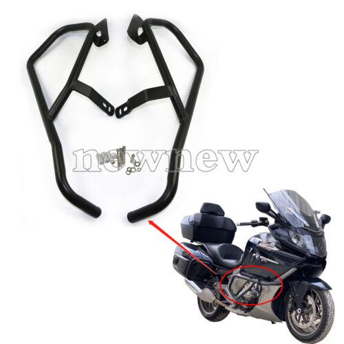 """1/"""" Highway Engine Guard Crash Bar Black Kit For BMW K1600GT//GTL//B 2011-2018"""