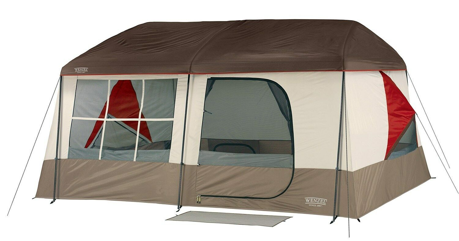Wenzel Kodiak Family Cabin 9 Person Tent - NEW - Free 2 Day Shipping  great tent