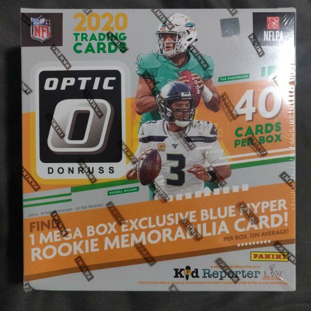 2020 Panini Donruss Optic Football NFL Mega Box Brand NEW