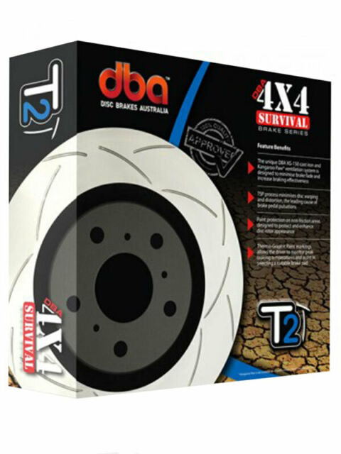 2 x DBA T2 Slotted Rotor FOR BMW X5 E70 (DBA2864S)