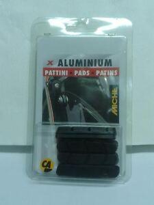 2-COPPIE-PATTINI-FRENO-MICHE-PER-CAMPAGNOLO-alluminio