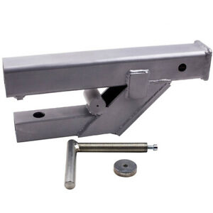 """Clamp On Trailer Hitch 2/"""" Ball Mount Receiver fit Deere Bobcat Tractor Bucket"""