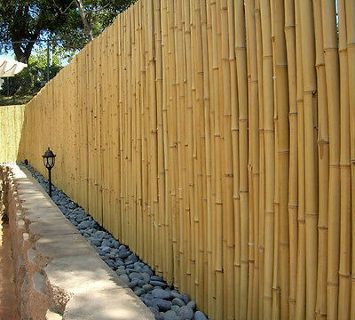 10 X HAND CRAFTED BAMBOO FENCE, FENCING, SCREEN - 1.8M x 1M - 10M COVERAGE