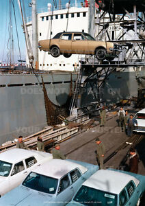 HOLDEN-HK-CARS-LOADING-FOR-EXPORT-A3-POSTER-PICTURE-PRINT-PHOTO-IMAGE