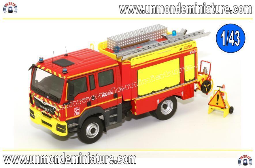 Man TGM 13.290 Gallin CCRM Pompier ALERTE - AL 0083 - Echelle 1 43 NEWS
