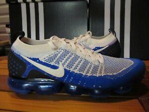 online store 35f6a 67107 Nike Air Vapormax Flyknit 2 Cream Racer Blue 3M 12.5 942842 ...