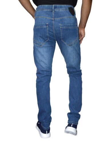 dimensioni Lavaggio Jeans delle Denim Designer scuro della vita G33 medio fit da lavaggio e tutte uomo elasticizzato le gambe slim skinny qrwTfpP1q