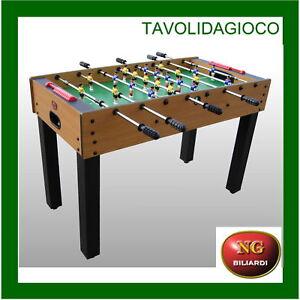 Calcio-Balilla-STADIO-telescopiche-NG-BILIARDI-CALCETTO-BILIARDINO-NUOVO