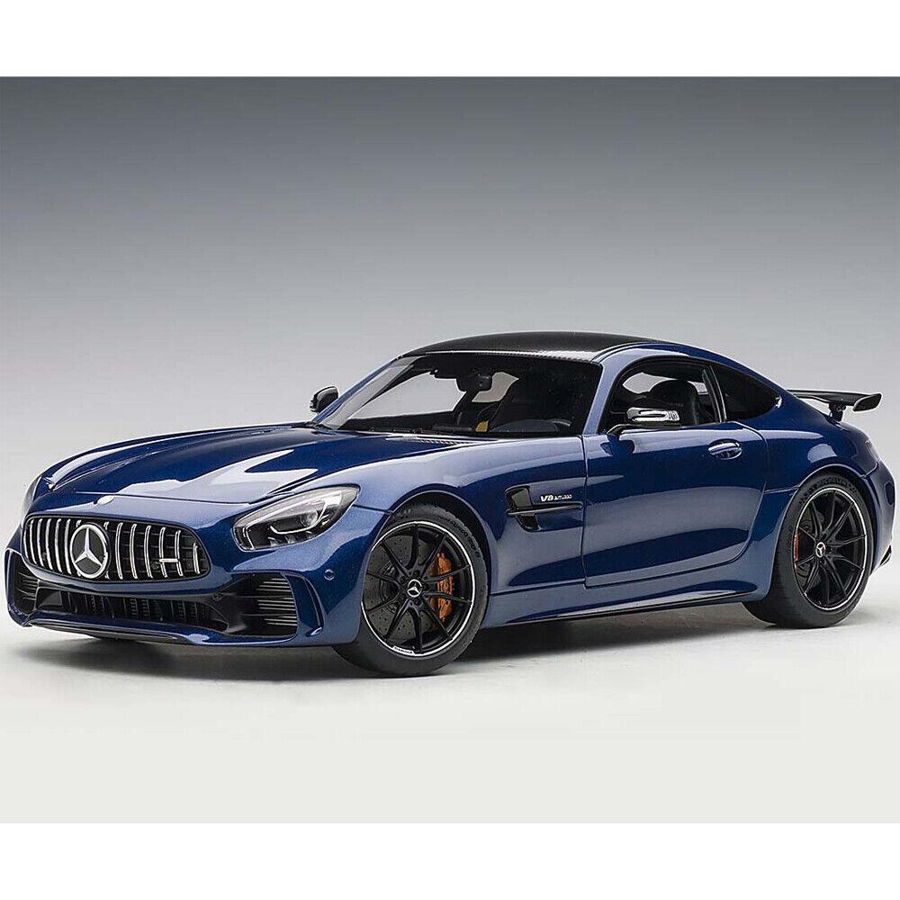 Autoart 76334 Mercedes Benz Amg GT R 1:18 Model Car Brilliant Blue Metallic