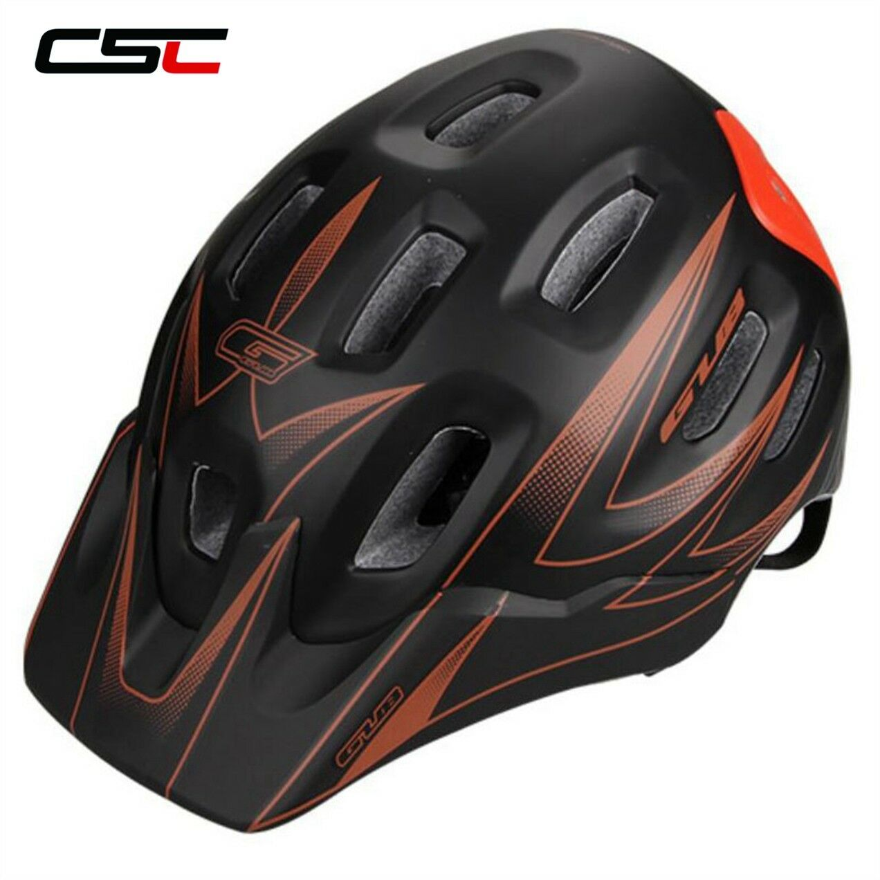 Ultralight AM Bike Helmet Road Cycling Helmet with Visor MTB Bicycle Helmets