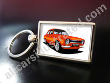 FORD ESCORT RS2000 METAL KEY RING. CHOOSE YOUR CAR COLOUR.