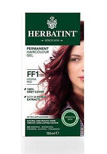 Herbatint-Herbes-Naturel-Cheveux-Couleur-Teinture-Henne-Rouge-FF1-150ml