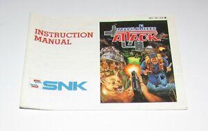 Mechanized-Attack-Instruction-Manual-Only-Nintendo-NES