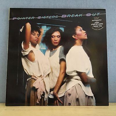 POINTER SISTERS Break Out 1983 UK VINYL LP RECORD EXCELLENT CONDITION B