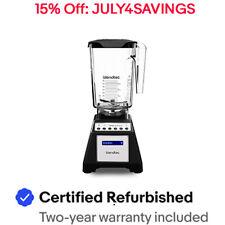 Blendtec Classic Total Blender Wildside+ Jar 90oz Certified Refurbished