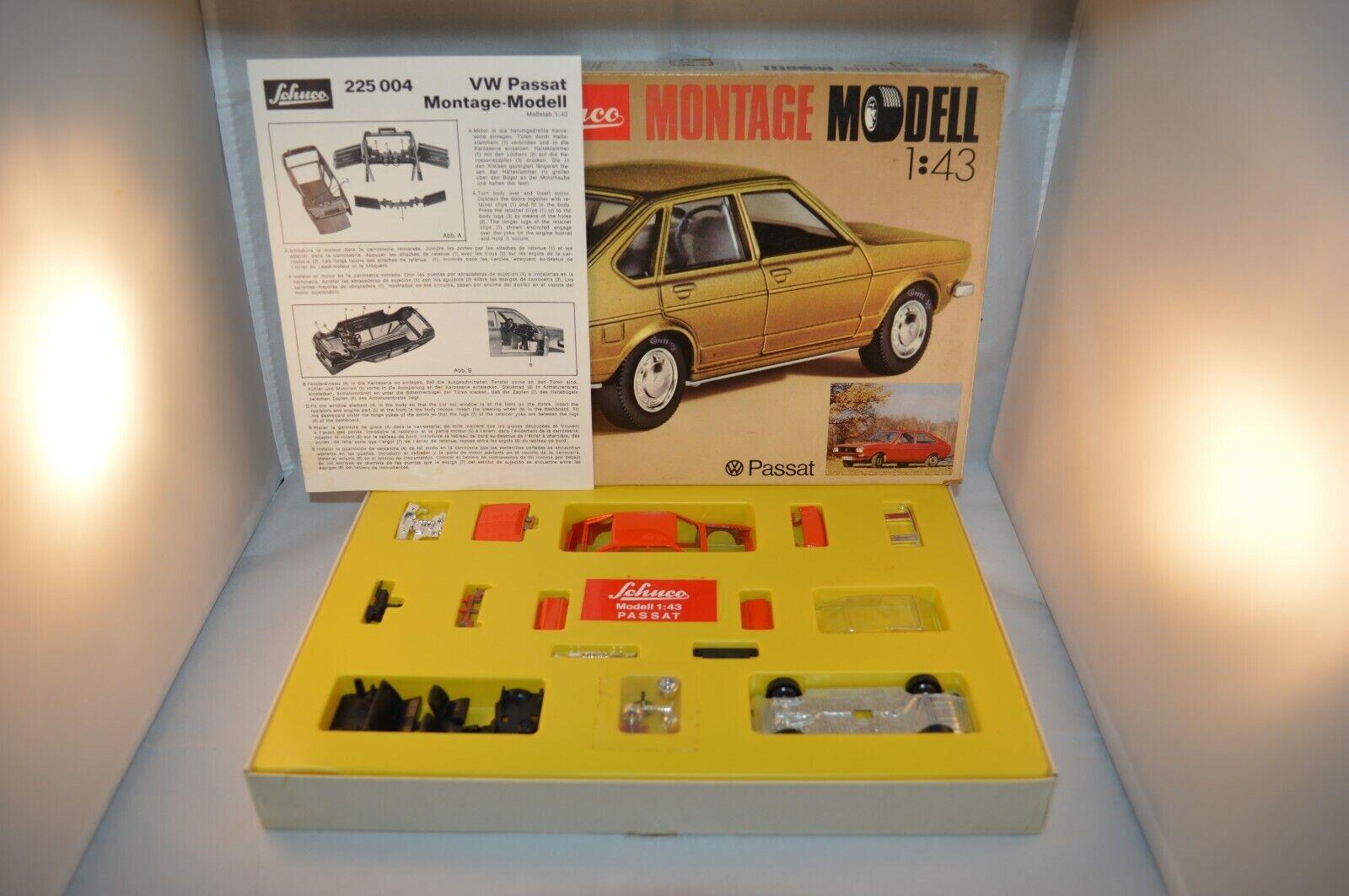 Schuco 255 004 Passat montage model 1 43 mint in original box OVP SELTEN 1e