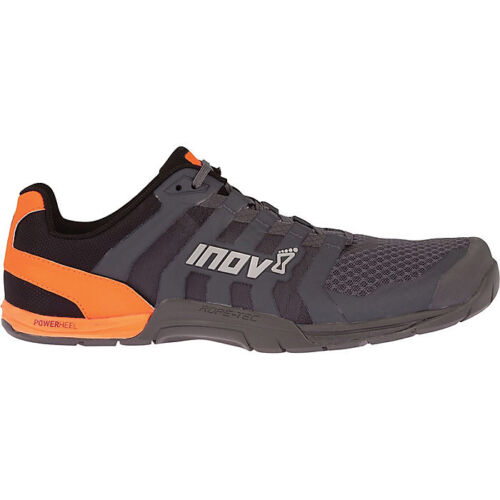 Inov8 Mens F-Lite 235 v2 Trail Running Shoes Gray Red Orange