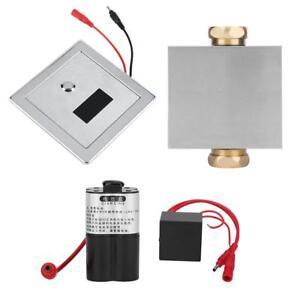 Wandmontage-Bad-WC-Urinal-Spuelung-Spuelventil-Automatisch-Manuell-Infrarot-Sensor