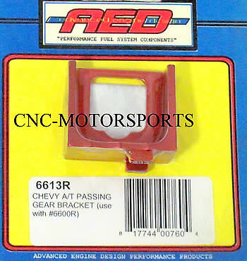 AED CHEVY A//T PASSING GEAR BRACKET Red