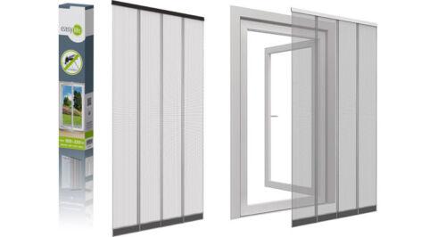 Fiberglas Lamellen-Vorhang 100x220 cm Insektenschutz Fliegengitter NEU Balkontür
