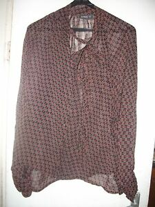 Flowing-see-through-vintage-blouse-with-full-sleeves-by-Apricot-Size-12