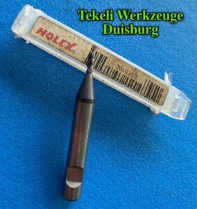 1X Solid carbide milling cutter HPC 12M mm HOLEX 203014