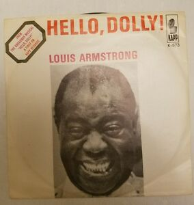 HELLO-DOLLY-A-LOT-OF-LIVING-TO-DO-LOUIS-ARMSTRONG-KAPP-K-573-VERY-GOOD-CONDITION