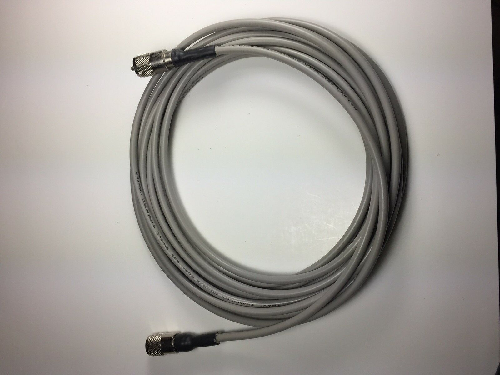 RG-8X COAX CABLE JUMPER 25 FT FOOT SEALED PL-259s USA MADE PROFESSIONAL CB HAM. Available Now for 2495.00